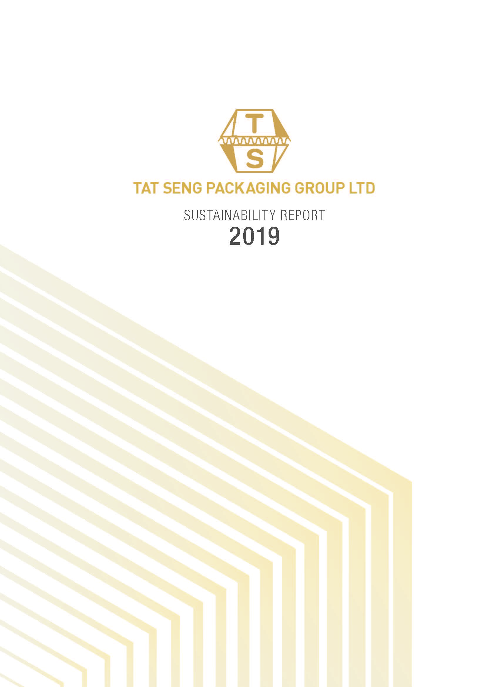 SR2019_coverpage Tat Seng Packaging Singapore - Sustainability Report